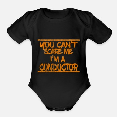 Conductor Experience - Organic Short-Sleeved Baby Bodysuit