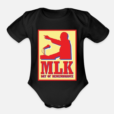 Remembrance MLM Day of Remembrance - Organic Short Sleeve Baby Bodysuit