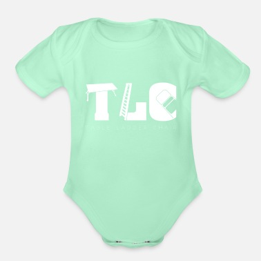 Tlc Wrestling TLC | Tables Ladders Chairs Wrestle - Organic Short-Sleeved Baby Bodysuit
