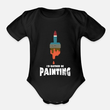 Painter Painter - Organic Short Sleeve Baby Bodysuit