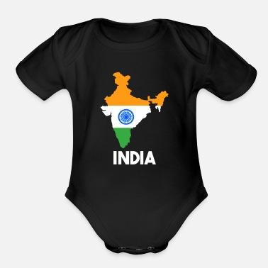 b890d47d8ea6 India Organic Short-Sleeved Baby Bodysuit