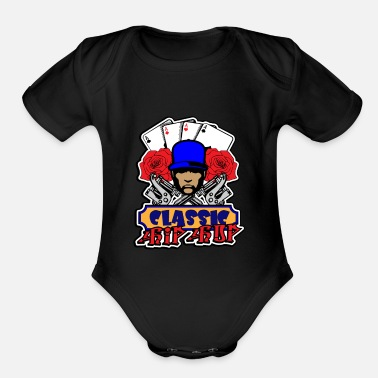 Classic Hip Hop Hip Hop Classic - Organic Short-Sleeved Baby Bodysuit