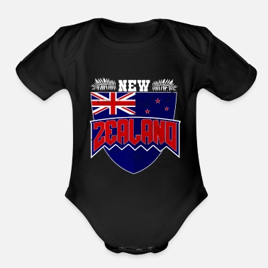 New Age new orleans new age new german states travel - Organic Short-Sleeved Baby Bodysuit