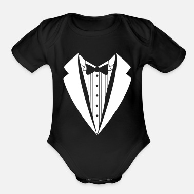 Suit suit - Organic Short-Sleeved Baby Bodysuit