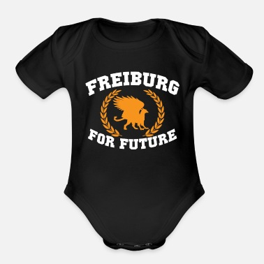 Freiburg Freiburg For Future - Organic Short-Sleeved Baby Bodysuit