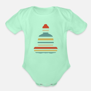 Buddhism Buddhism - Organic Short-Sleeved Baby Bodysuit