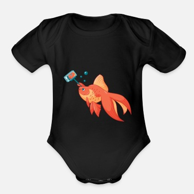 Selfish Selfish - Organic Short-Sleeved Baby Bodysuit