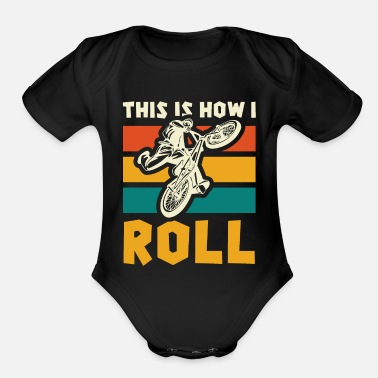 Floss Like A Boss Skeleton Pumpkin - Floss Like A Boss - Organic Short-Sleeved Baby Bodysuit