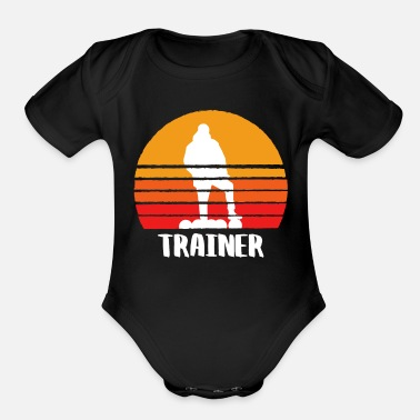 Trainers The Trainer - Organic Short-Sleeved Baby Bodysuit