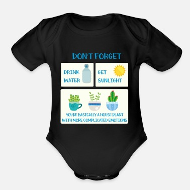 Complicated Complicated Emotions - Organic Short Sleeve Baby Bodysuit