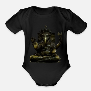 Ganesha orginal - Organic Short-Sleeved Baby Bodysuit