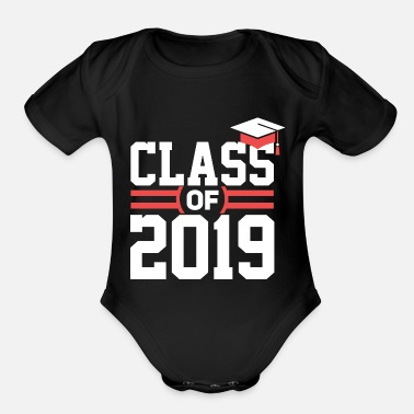 Graduation Class of 2019 Shirts - Organic Short Sleeve Baby Bodysuit