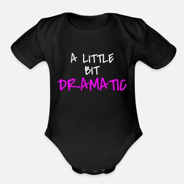 Funny Quotes For Girls girl quote - Organic Short-Sleeved Baby Bodysuit