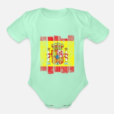 Spain Spain - Organic Short-Sleeved Baby Bodysuit
