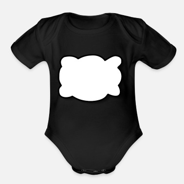 Speech Balloon Speech Balloon - Organic Short Sleeve Baby Bodysuit