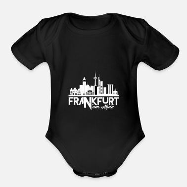 Frankfurt Am Main Frankfurt am Main - Organic Short-Sleeved Baby Bodysuit