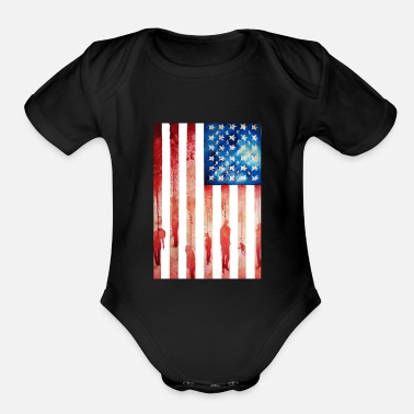 New Age New Age of Slavery - Organic Short Sleeve Baby Bodysuit