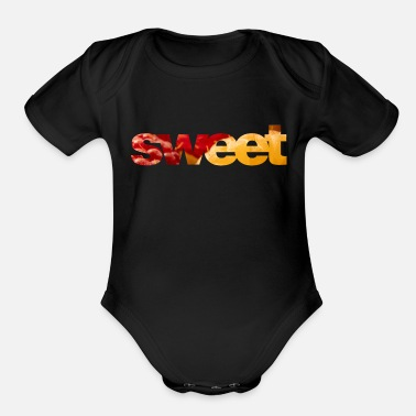 Sweets Sweet - Organic Short-Sleeved Baby Bodysuit