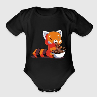 Red Panda Express - Organic Short Sleeve Baby Bodysuit