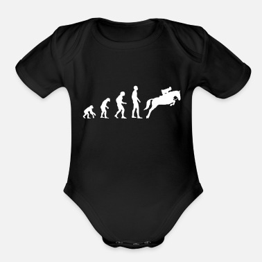Show Jumping Evolution Show Jumping - Organic Short Sleeve Baby Bodysuit