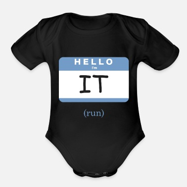 Tag Tag - Organic Short-Sleeved Baby Bodysuit