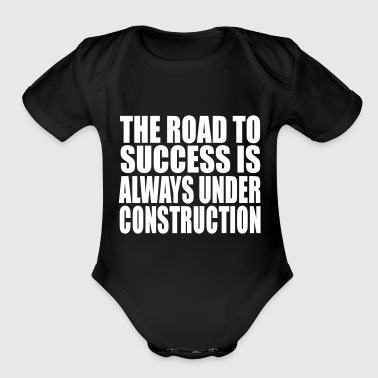 Road Running the road - Organic Short Sleeve Baby Bodysuit