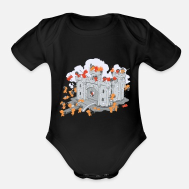 Siege The Siege - Organic Short-Sleeved Baby Bodysuit