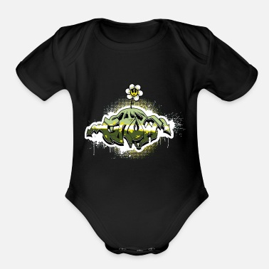 Tag Grow Tag - Organic Short-Sleeved Baby Bodysuit