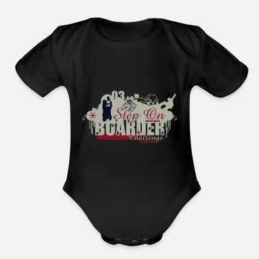 Best Boarder Freestyle BOARDER - Organic Short-Sleeved Baby Bodysuit