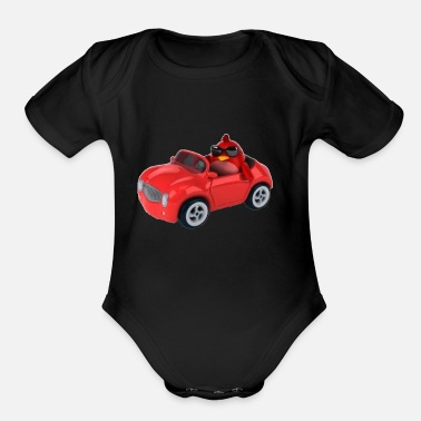 car - Organic Short-Sleeved Baby Bodysuit