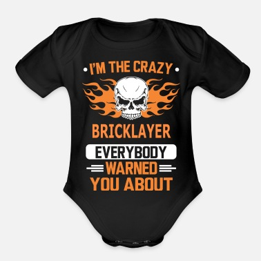 Bricklayer BRICKLAYER - Organic Short Sleeve Baby Bodysuit