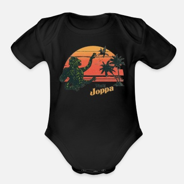 Titan Coast Of The Titans - Organic Short-Sleeved Baby Bodysuit
