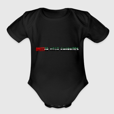 Arab - Organic Short Sleeve Baby Bodysuit