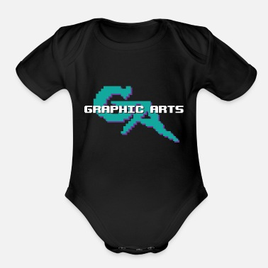 Graphic Art Graphic Arts - Organic Short Sleeve Baby Bodysuit