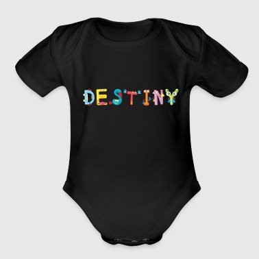 Destiny - Organic Short Sleeve Baby Bodysuit