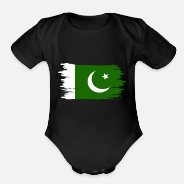 Pakistan Pakistan - Organic Short-Sleeved Baby Bodysuit