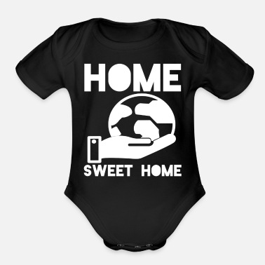 Nature nature conservation nature lovers nature conservat - Organic Short-Sleeved Baby Bodysuit