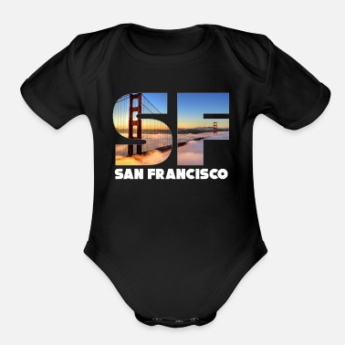 San Francisco San Francisco - Organic Short-Sleeved Baby Bodysuit