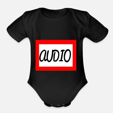 Audio AUDIO - Organic Short-Sleeved Baby Bodysuit