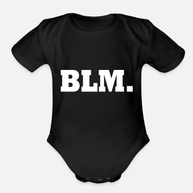 Blm Blm - Organic Short-Sleeved Baby Bodysuit