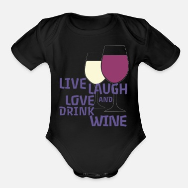 Winemaker Pfalz Rheinhessen Winemaker viticulture - Organic Short-Sleeved Baby Bodysuit