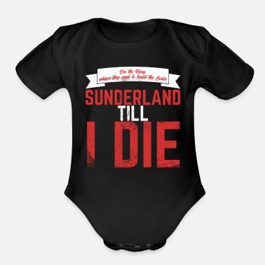 for Football Soccer Fans Baby Vests Bodysuits Me and My Daddy Love Sunderland