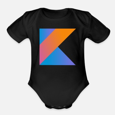 Open Source programmer pc computer nerd open source coder K - Organic Short Sleeve Baby Bodysuit