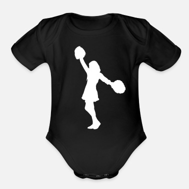 Cheerleaders Cheerleading Cheerleader - Organic Short-Sleeved Baby Bodysuit