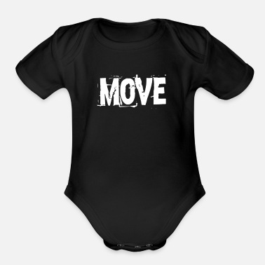 Movement Move Movement - Organic Short-Sleeved Baby Bodysuit