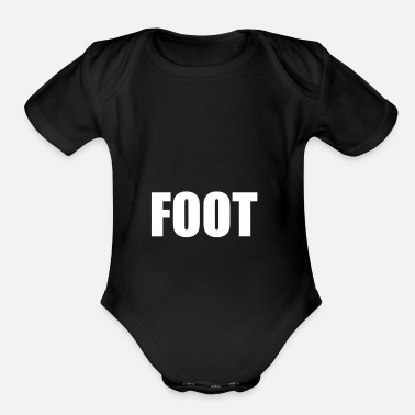 Foot FOOT - Organic Short-Sleeved Baby Bodysuit
