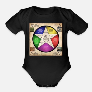 Element The Elements - Organic Short Sleeve Baby Bodysuit
