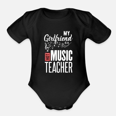 Girlfriend girlfriend - Organic Short-Sleeved Baby Bodysuit