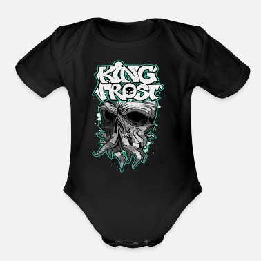 Frost King Frost - Organic Short-Sleeved Baby Bodysuit