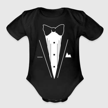 Smoking - Organic Short Sleeve Baby Bodysuit